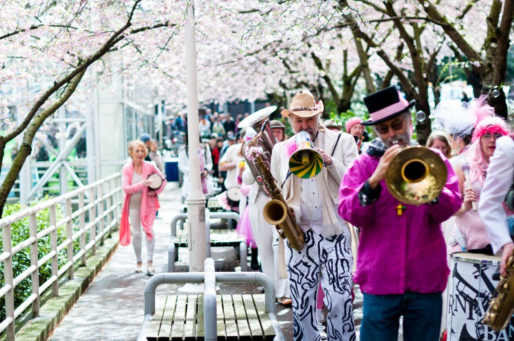 Image of the Vancouver Cherry Blossom Festival's Cherry Dam Concert