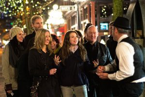 Image of group walking tour in Gastown