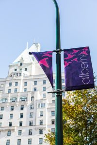 Photo of downtown Vancouver's Fairmont Hotel Vancouver