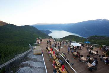 Image of Sea to Sky Gondola patio