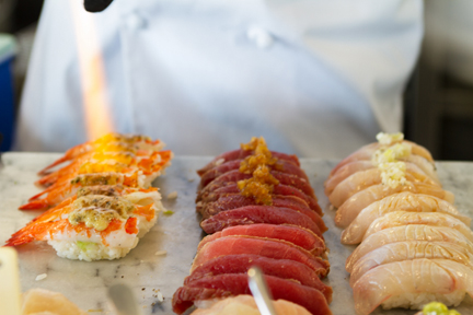 Image of aburi sushi in Vancouver